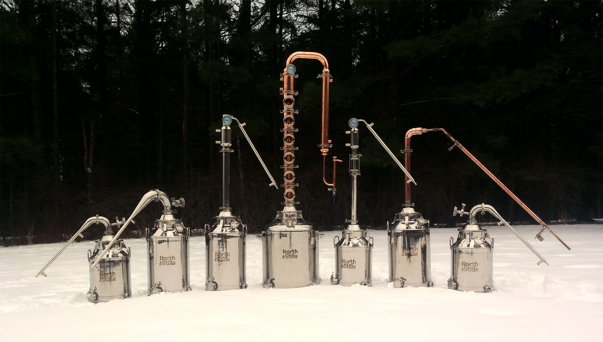 Distilling Equipment for Commerical and Home Distilling | North Stills